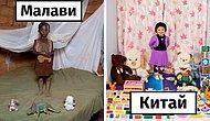 Дети со всего мира демонстрируют свои любимые игрушки в этой трогательной серии фотографий (20 фото)