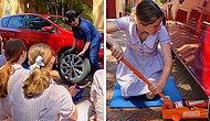 Школа ломает гендерные стереотипы и обучает девочек 11-го класса, как нужно ухаживать за автомобилями