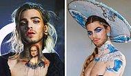 21-летний визажист использует свое лицо и тело как холст для воссоздания знаменитых картин (10 фото)