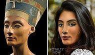 Как бы выглядела Нефертити и другие исторические личности, будь они в нашем времени (25 новых фото)
