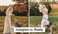 """Новый тренд Инстаграма: люди сравнивают """"вылизанные"""" фотки и """"жизненные"""""""