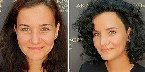 20 женщин, которые доверили создание макияжа и прически двум российским стилистам, и ни разу об этом не пожалели