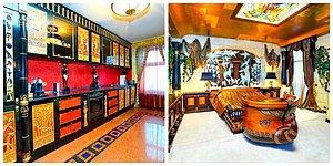 Хотите жить как фараон? Тогда эта роскошная квартира в Москве за 1,7 млн долларов прекрасно вам подойдет (11 фото)