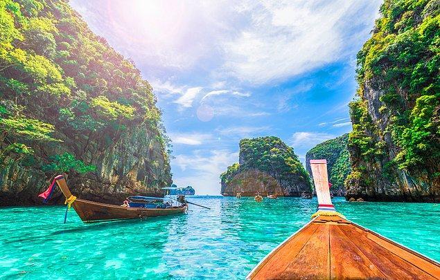 6. Tayland: 43 gün