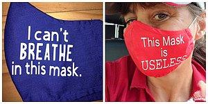 18 масок с остроумными надписями, которые идеально подойдут тем, кто наотрез отказывается их носить