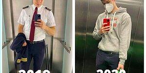 Российский пилот, которому пришлось сменить профессию, сравнивает свою жизнь до и после пандемии