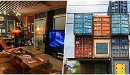 Мужчина построил дом из 11 транспортных контейнеров, потому что не мог найти дизайн по душе