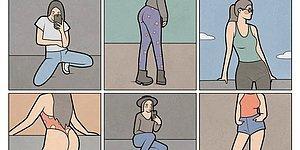 Российский художник высмеивает реалии Инстаграм, которые мы уже привыкли считать абсолютно нормальными