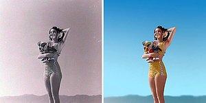Русская художница раскрашивает фотографии икон Голливуда. Получается невероятно круто