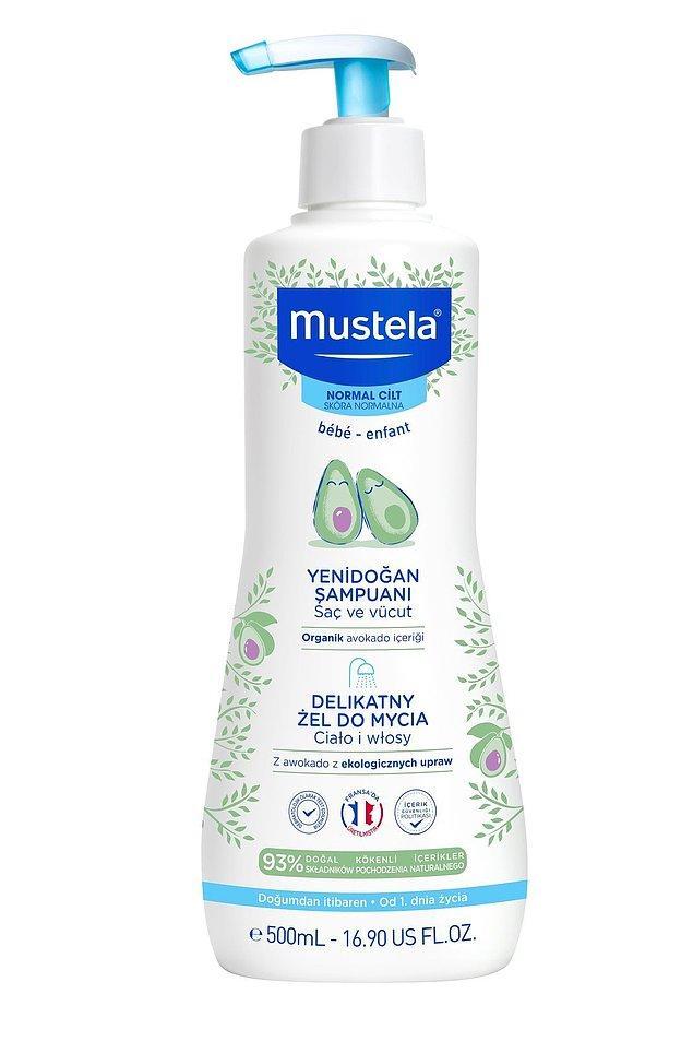 19. Mustela en iyi bebek saç vücut şampuanı olarak geçiyor.