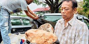 Рыбак в Таиланде нашел амбру стоимостью 2,4 миллиона фунтов стерлингов