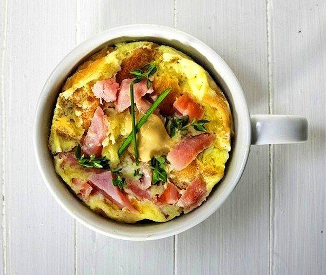 4. Kaşık kaşık keyif: Omlet