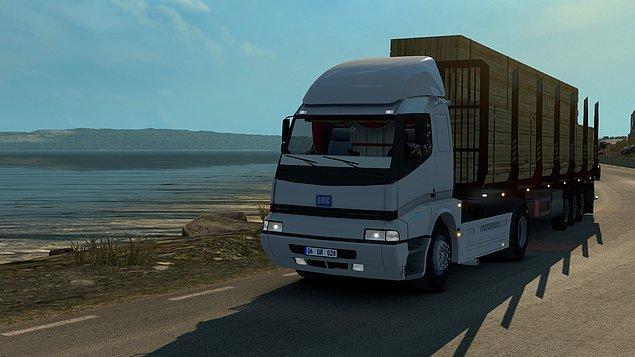 3. Euro Truck Simulator 2