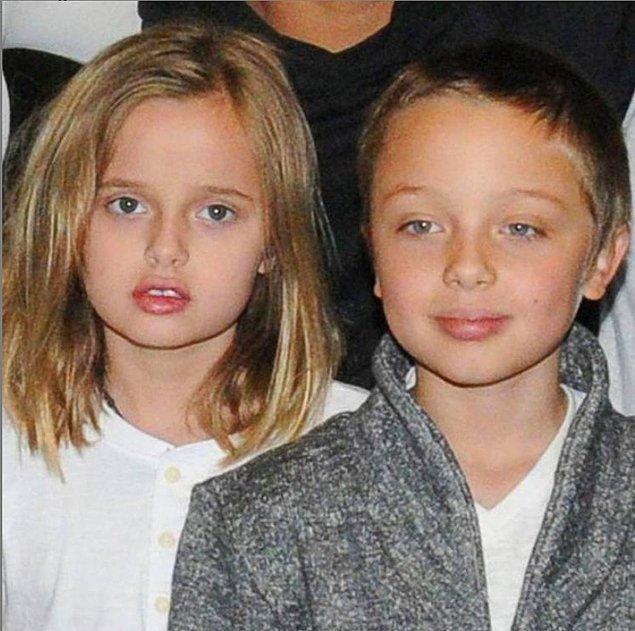 5. Knox Jolie Pitt ve Vivienne Jolie Pitt