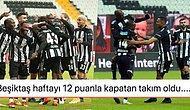 Haftanın Kazananı Kartal! Beşiktaş'ın 12 Dakikada Farka Gittiği BB Erzurumspor Maçında Yaşananlar ve Tepkiler