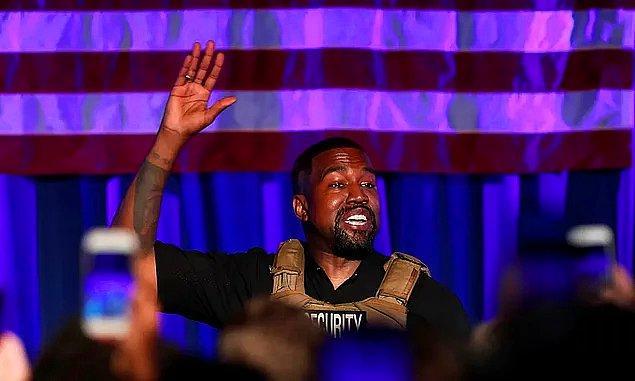 10. Kanye West eskiden Gap'te çalışıyordu.