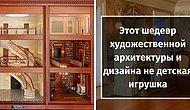 Взгляните во внутрь, мастерски сделанного, кукольного домика, который стоит целое состояние (14 фото)