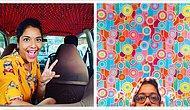 Журналистка фотографирует потолки такси в Мумбаи, которые настолько же уникальны, как отпечатки наших пальцев (15 лучших фото)