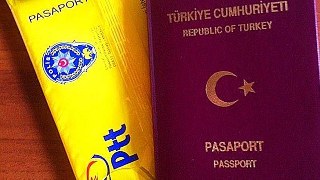 Pasaport Nereye Gelir?