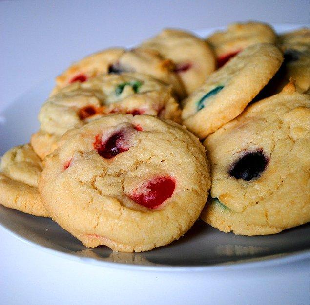 2. Tatlı Ekşi Jelibonlu Cookie Tarifi:
