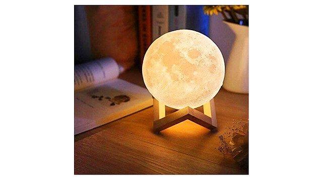 20. Dekoratif bir gece lambasına ne dersiniz?