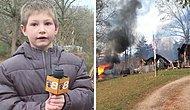 Не все герои носят плащи: 7-летний приемный сын помчался обратно в горящий дом, чтобы спасти свою младшую сестру