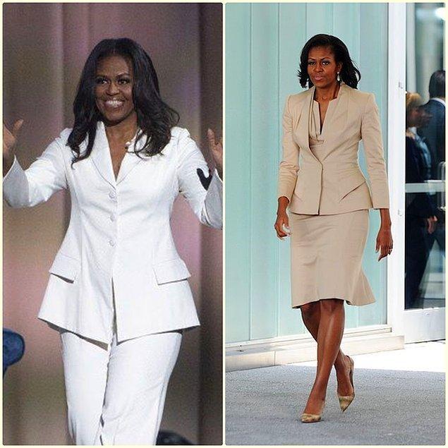 11. ABD'nin eski first ladysi Michelle Obama'nin sempatik halleri kıyafetlerinden daha çok konuşuluyordu.