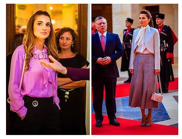 21. Ürdün Kraliçesi Rania el-Abdullah, yurt içinde ve dışında yaptığı sayısız yardımlarla biliniyor.