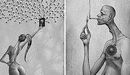 Мрачное искусство: Художник изобразил печальную правду о современном обществе в своих иллюстрациях (Новые фото)