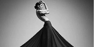 Не маленькое черное платье! Cнимок дерзкого наряда вошел в число победителей конкурса Monochrome Photography Awards