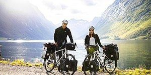 Пара совершила велопробег в 15 000 км через семь стран на трех континентах и рассказала об этом удивительном путешествии в своей книге