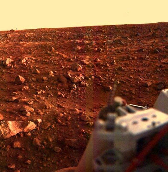 Mars (Ay boyunca Aslan takımyıldızında)