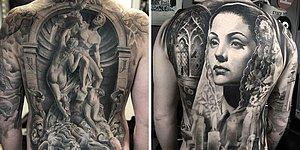 20 впечатляющих татуировок от шведского художника, специализирующегося на черно-сером реализме