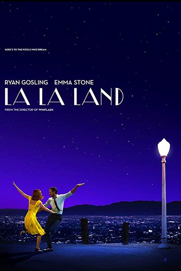 2. La La Land (2016) IMDb: 8,0