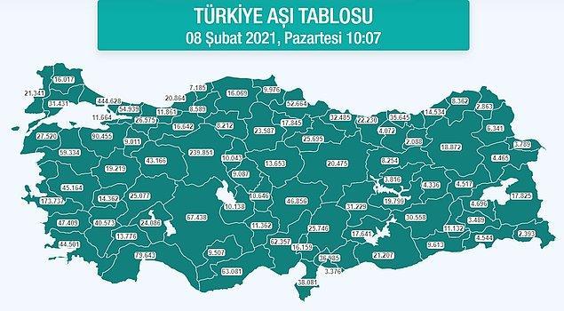 """""""Güneydoğu ve Doğu Anadolu'da aşağı yukarı neredeyse hiç aşı yapılmıyor gibi görünüyor"""""""