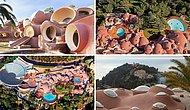 """Необычный летний дом Пьера Кардена в Каннах """"Palais Bulles"""" в форме пузырей продается за 280 миллионов фунтов стерлингов"""