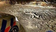 В Нидерландах полиция прибыла на места убийства, но вместо трупа обнаружила снеговика