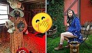 """Люди троллят дизайнеров бренда """"Таргет"""", делая уморительные фотографии в их платьях в сельском стиле"""