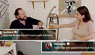 Meriç Aral ve Alican Yücesoy, RTÜK'ün 'Aile Yapısına Aykırı' Diyerek Ceza Kestiği Küvet Sahnesini Tiye Aldı