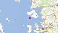 İzmir Karaburun Açıklarında 4 Büyüklüğünde Deprem
