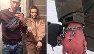Пара из Украины сковала себя цепью на три месяца, чтобы проверить свои отношения на прочность