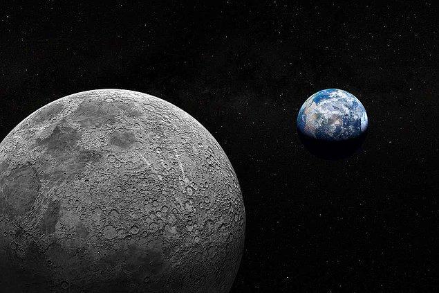 Ve sonuç olarak Dünya'nın 84'te 1'i olan Ay, Mavi Gezegen'imizin eksen eğikliğinin belli küçük bir aralıkta kalmasını sağlar.
