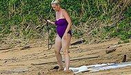 36-летняя Кэти Перри впервые демонстрирует свою фигуру после беременности во время отпуска на Гавайях с женихом Орландо Блумом
