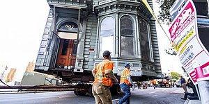 В Сан-Франциско был целиком перемещен 139-летний викторианский дом