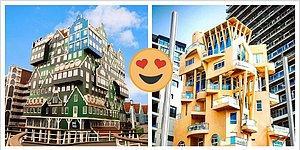 10 причудливых творений архитекторов, которые бросили вызов обыденности