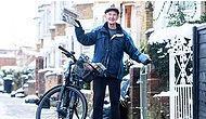 Британский дедушка возвращается к своей любимой работе почтальоном в 80 лет, но теперь - на электровелосипеде!
