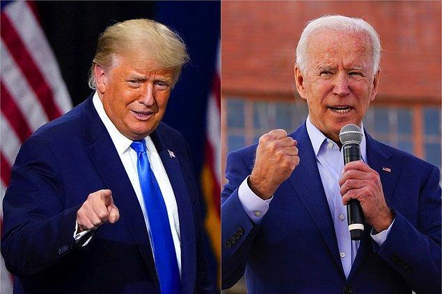 """6. """"Trump seçimi kaybetmedi, Biden oyları çaldı."""""""