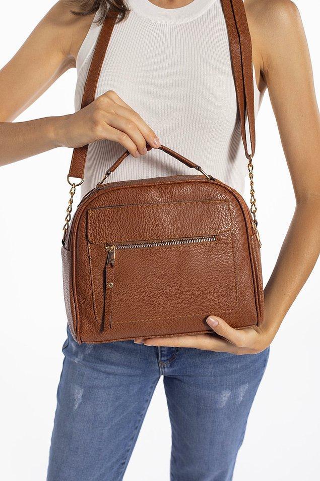 6. Güzel ve kullanışlı bir çanta, bir de indirimdeyse...