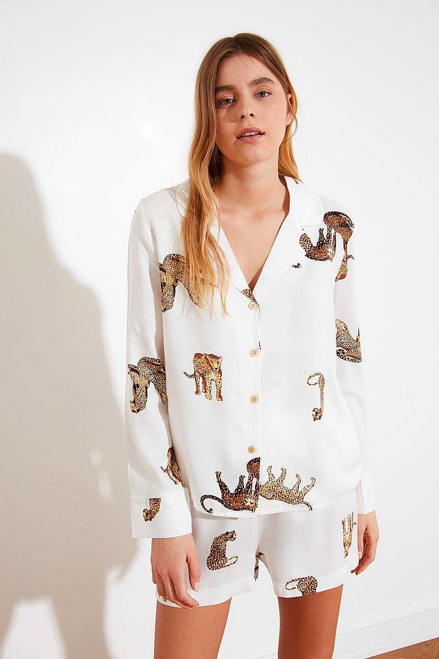 13. Pijama takımına aşık olduk.💛