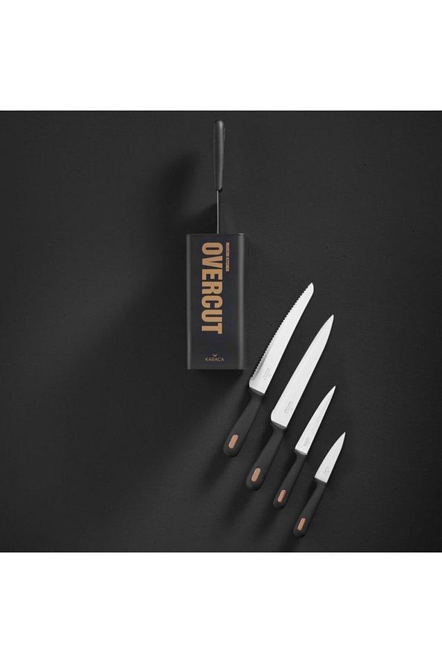 11. Profesyonel bıçak olmadan yemek yapmak kadar zor bir şey yok.